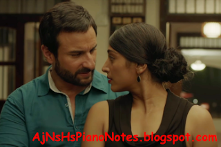 Tere Mere Piano Notes From Chef