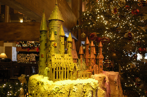 In The Kitchen With Harry Potter Gingerbread House