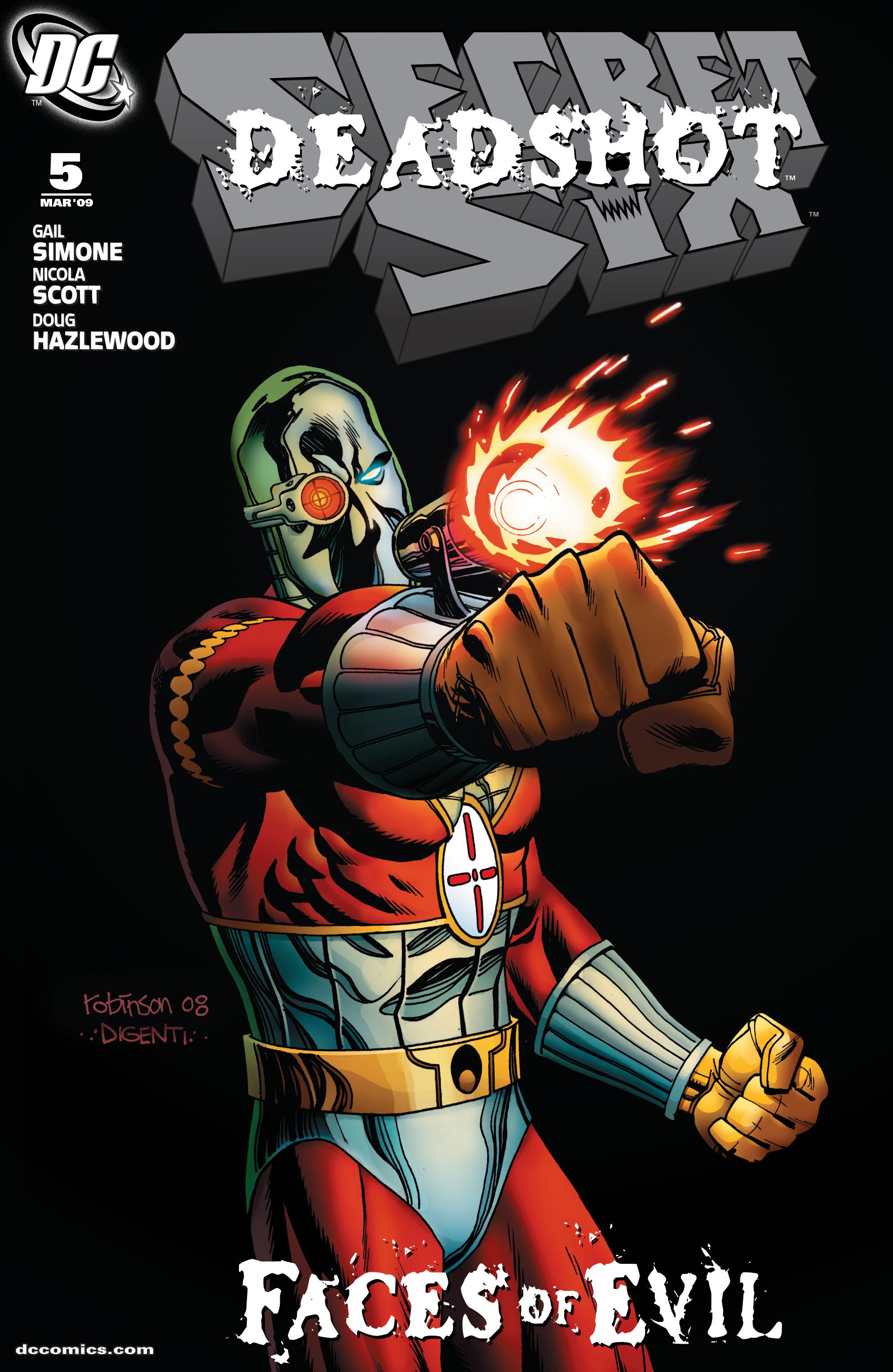 Read online Secret Six (2008) comic -  Issue #5 - 1
