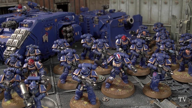 Games Workshop: New Powerful Primaris Space Marines - Even Bigger and Deadlier Space Dudes