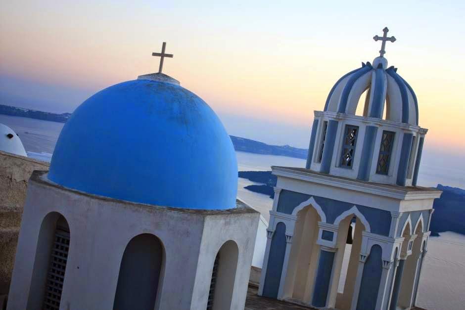Agios Nikolaos monastery in Santorini