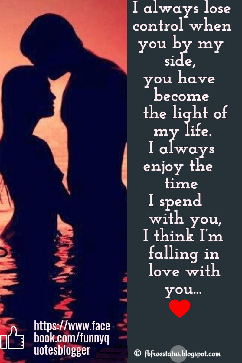 Propose quotes for girlfriend