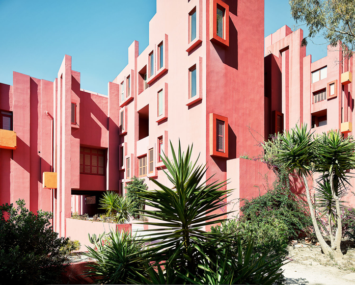 La Muralla Roja by Ricardo Bofill- one of my faves!