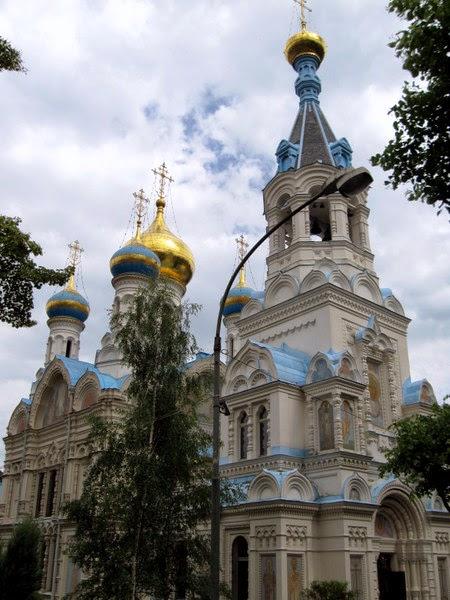Iglesia Ortodoxa de San Pedro y San Pablo en Karlovy Vary, República Checa