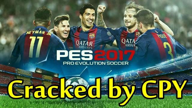 Crack PES 2017