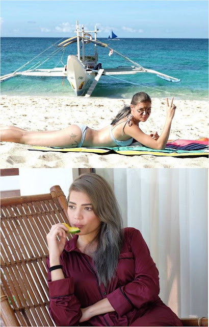 Rhian Ramos Shows Off Alluring Beach Body!