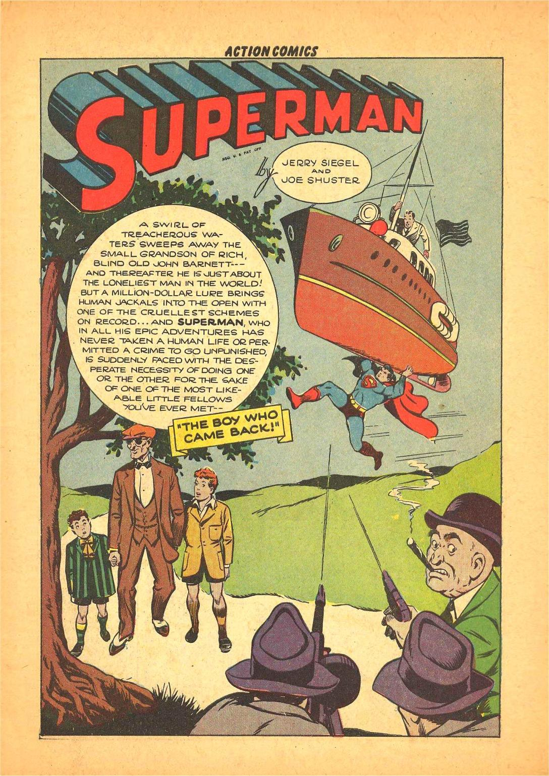 Read online Action Comics (1938) comic -  Issue #66 - 2