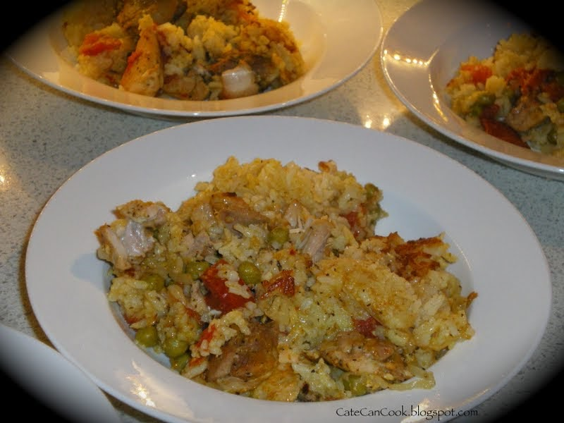 Cate Can Cook, So Can You!!: Baked Moroccan Chicken and Rice