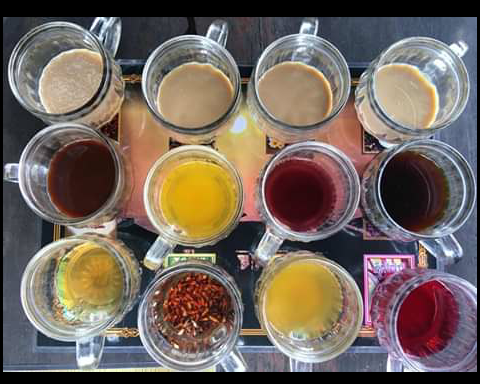 Herbal Coffee Tasting