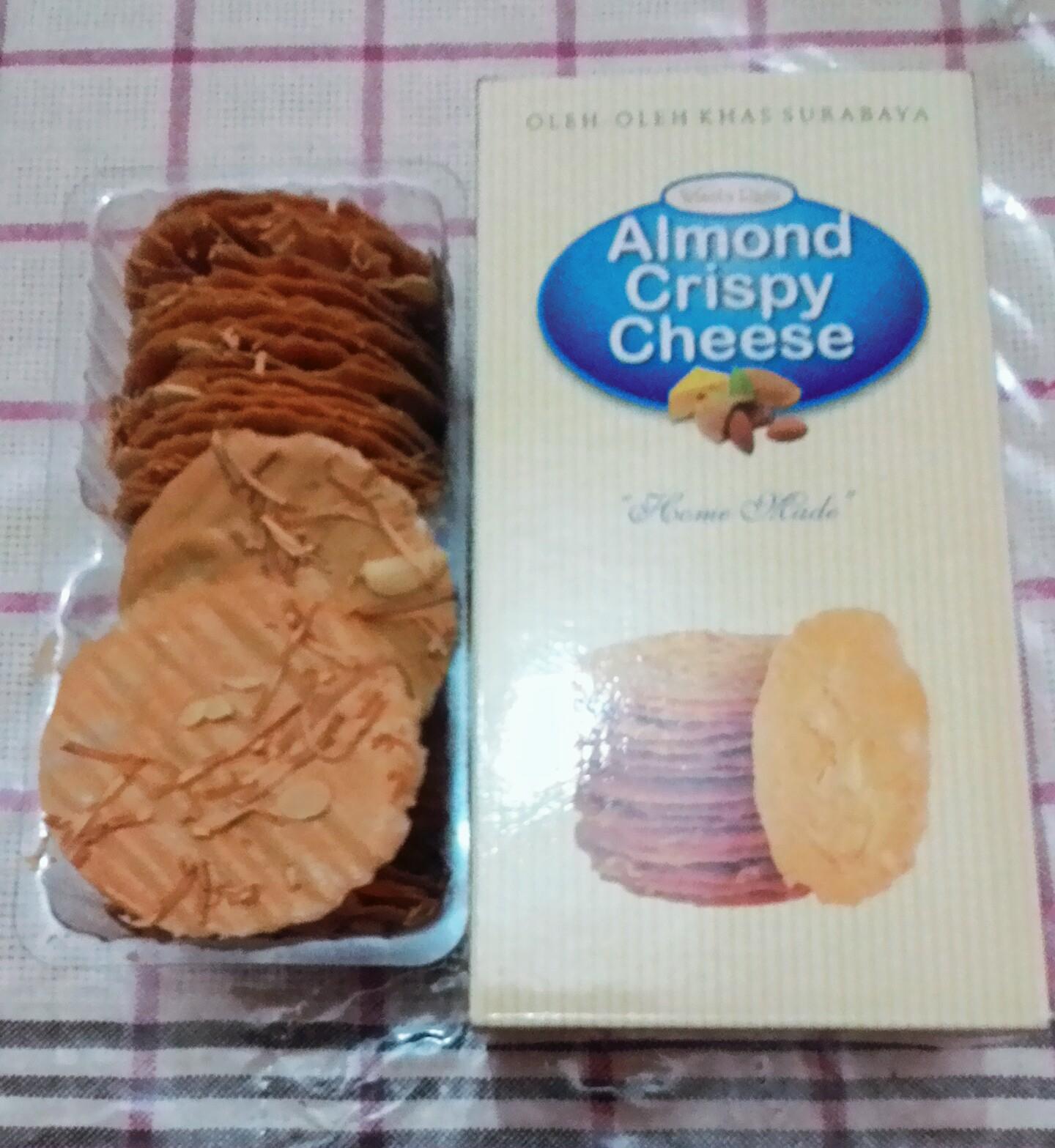 Ugik Madyo Lifestyle Blogger Almond Crispy Cheese Wisata