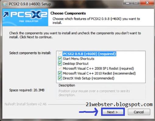 SCARICA PCSX2 0.9.8