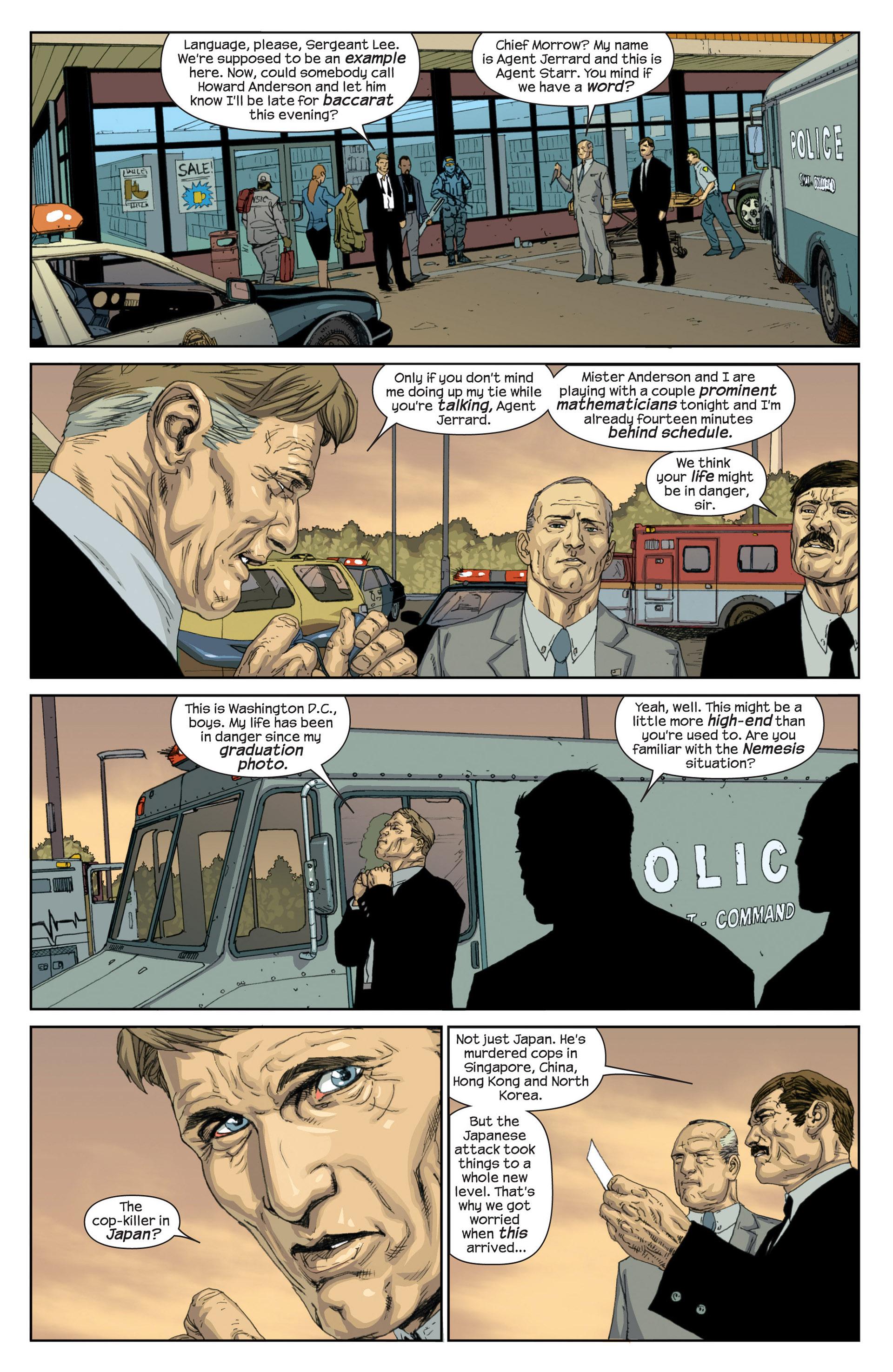 Read online Millar & McNiven's Nemesis comic -  Issue #1 - 15