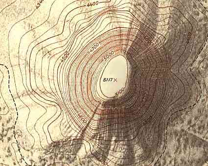 Topographic Map Mountains.The World Of Maps Topographic Map