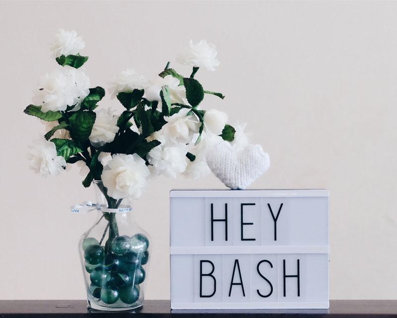 Hey Bash
