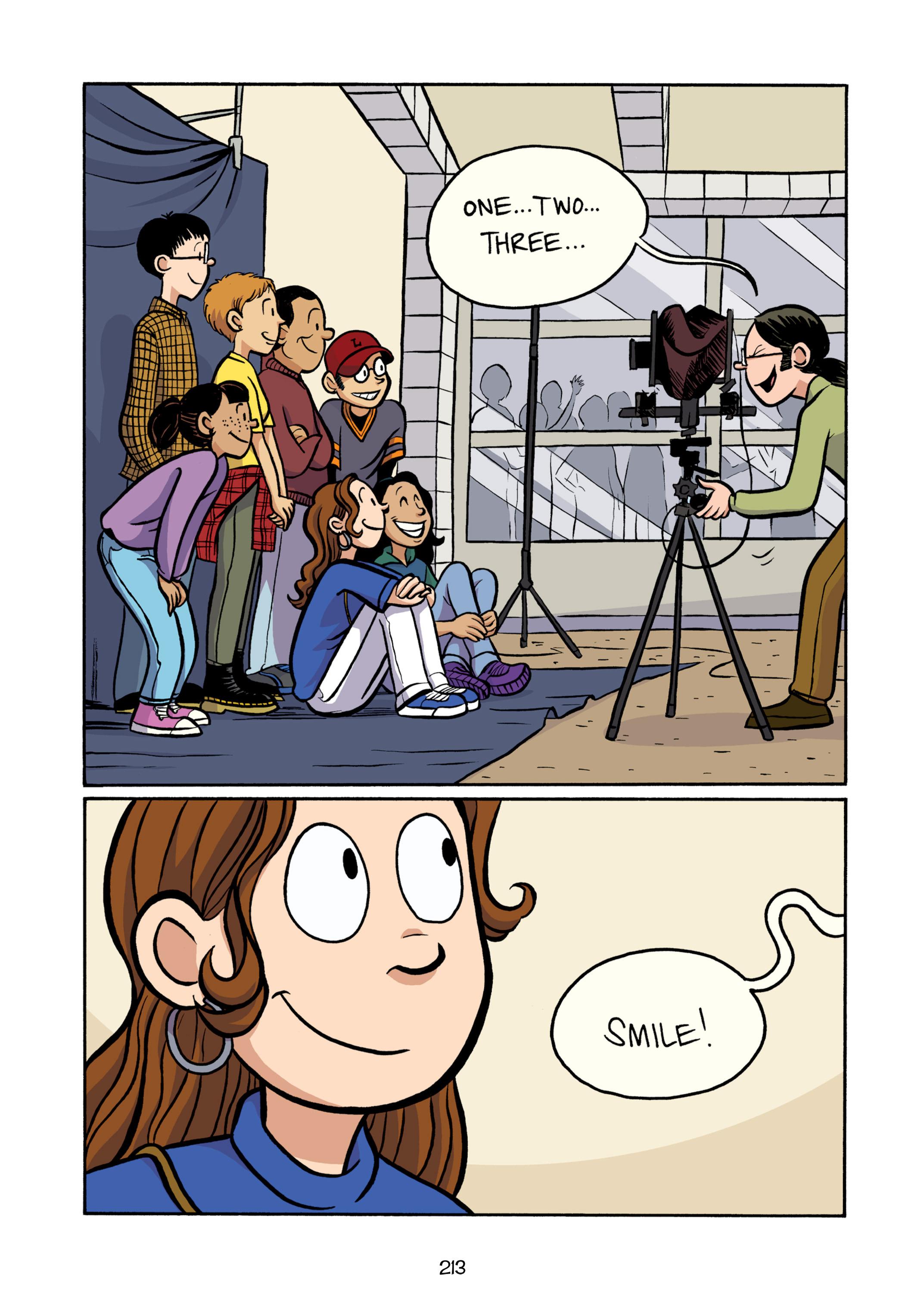 Read online Smile comic -  Issue # TPB - 218
