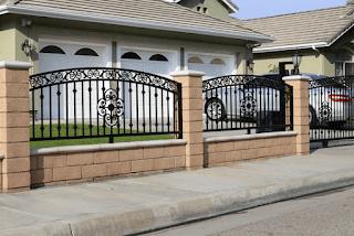 tembok pagar rumah minimalis terbaru 2017