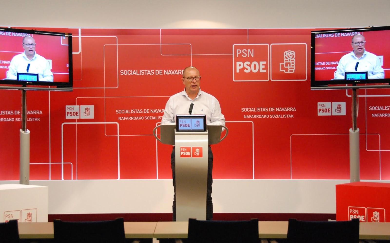 El PSN-PSOE presenta una ley para regular la escolarización y el reparto equilibrado del alumnado entre la enseñanza pública y concertada