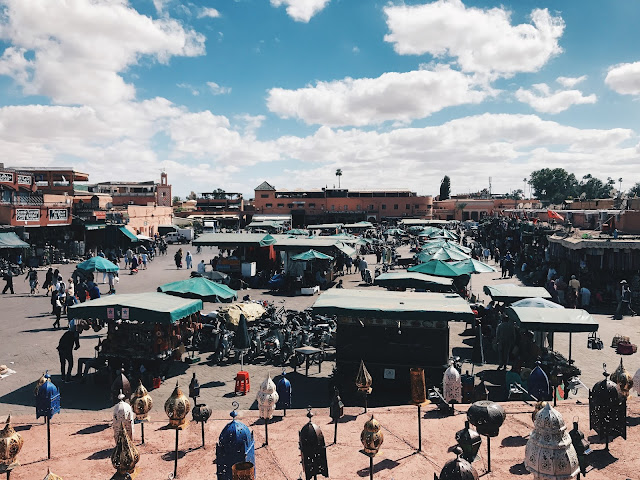 Marrakech, Morocoo Itinery