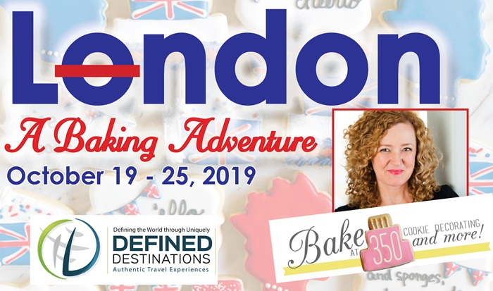 JOIN ME IN LONDON (!!!) for biscuits, and sponges, and saucy puds