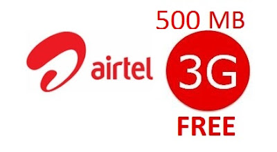 airtel free internet offer for Prepaid