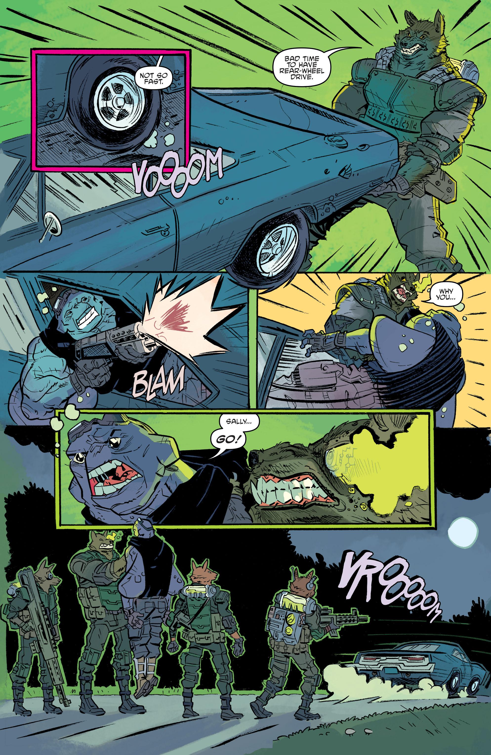 Read online Teenage Mutant Ninja Turtles Universe comic -  Issue #11 - 13