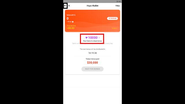 تطبيق hapoapp لربح المال من هاتفك منافس لتطبيق Pivot المشهور ! يتقاسم مبالغ ضخمة يوميا  وسارع لتحميله image8.png
