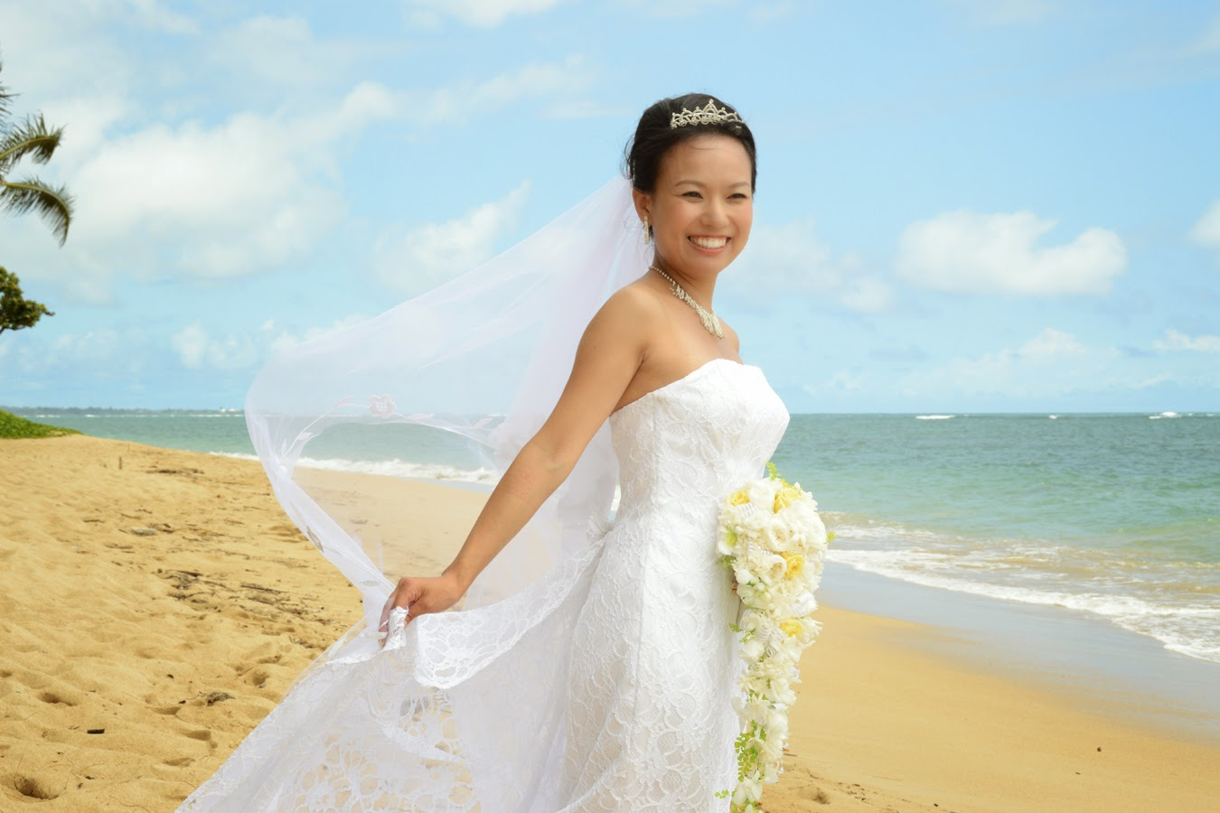 Japanese Bride in Hawaii
