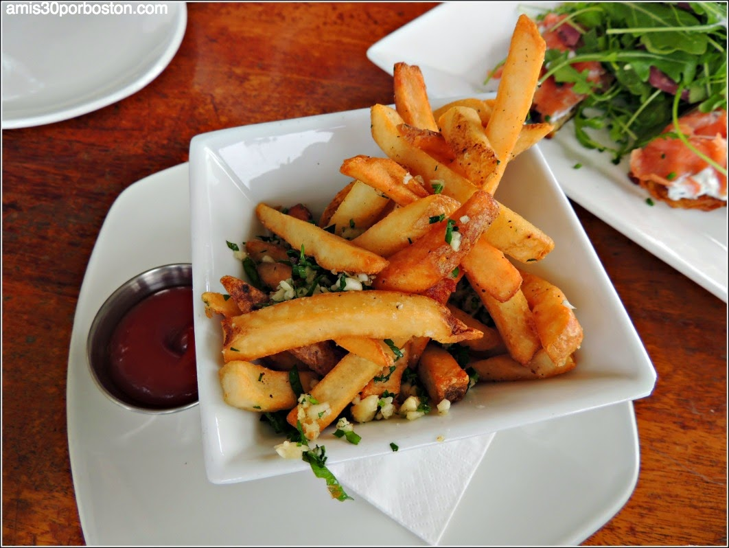 The Beach Chalet: Garlic Fries $7