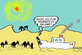 emergenze, migranti, deficit, conti pubblici, vignetta, satira