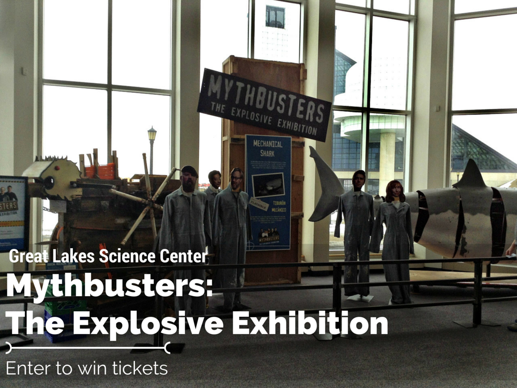Mythbusters: The Explosive Exhibition is at @GreatScience till May! Enter to Win Tickets! #sponsored