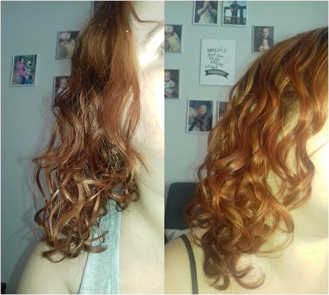 włosy kręcone