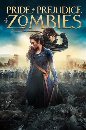 Poster Pride and Prejudice and Zombies 2016