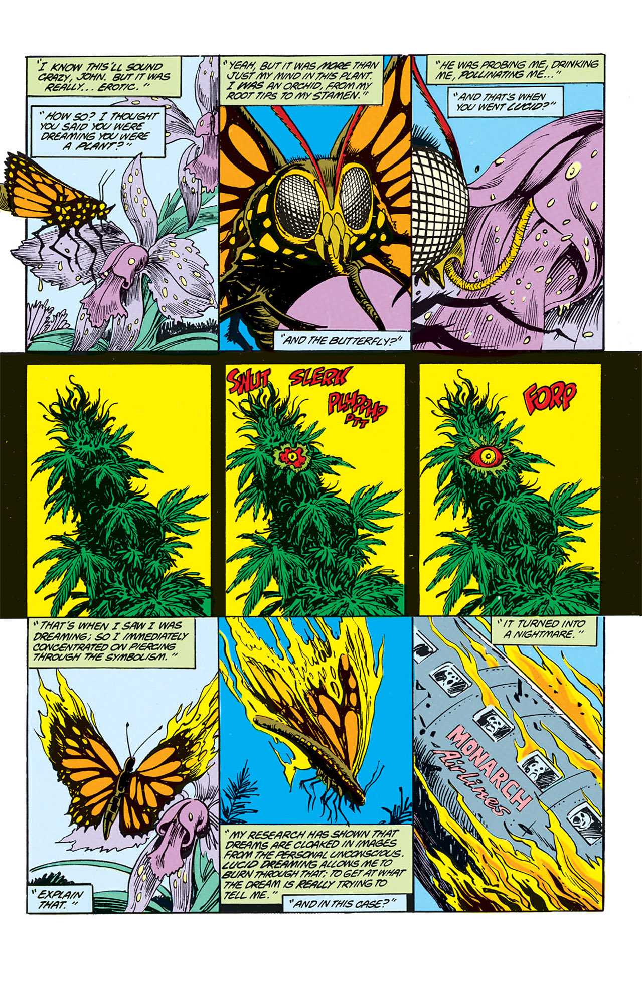 Swamp Thing (1982) Issue #70 #78 - English 2