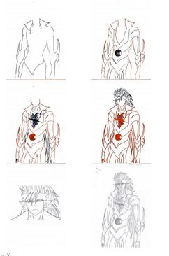 Step How To Draw Anime Bleach Grimmjow