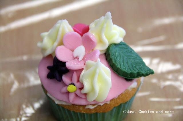 Pink Cupcake - ein Werk einer Schülerin