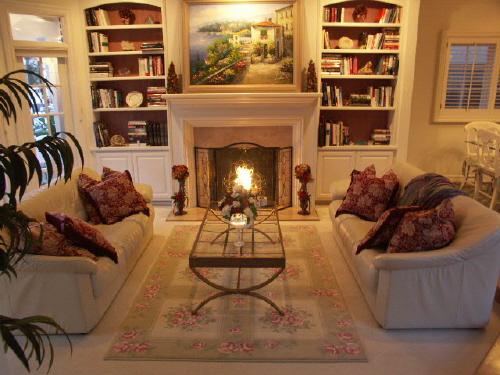 Innenarchitektur Design: Wohnzimmer Teppich