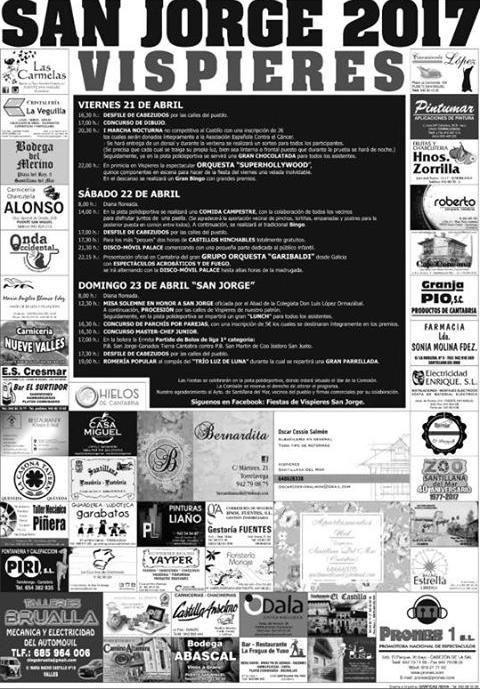 Fiestas de San Jorge en Vispieres 2017