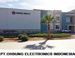Lowongan Kerja Untuk SMA/SMK PT Ohsung Electronics Indonesia