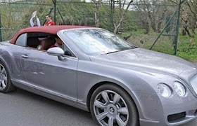 See Christiano Ronaldo's 15Cars!!!!!! is it worth it?