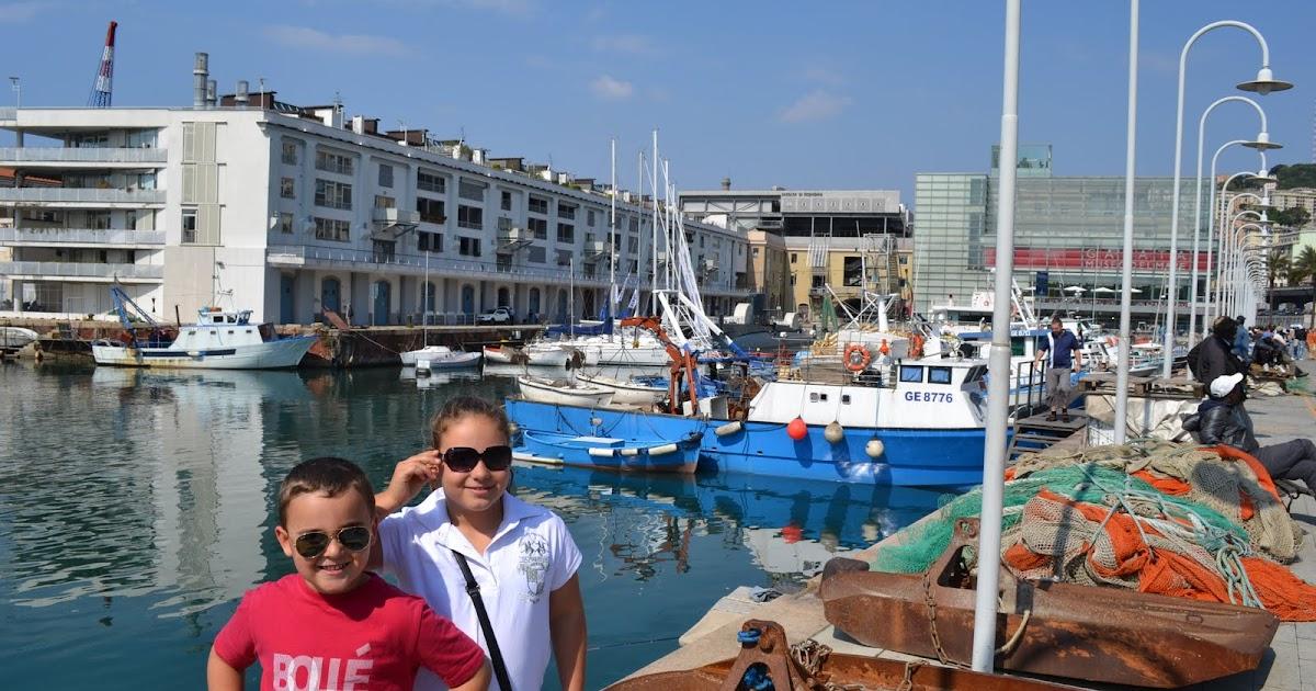 The Koutas in Europe: Day 18 - Genoa Aquarium - MSC Splendida