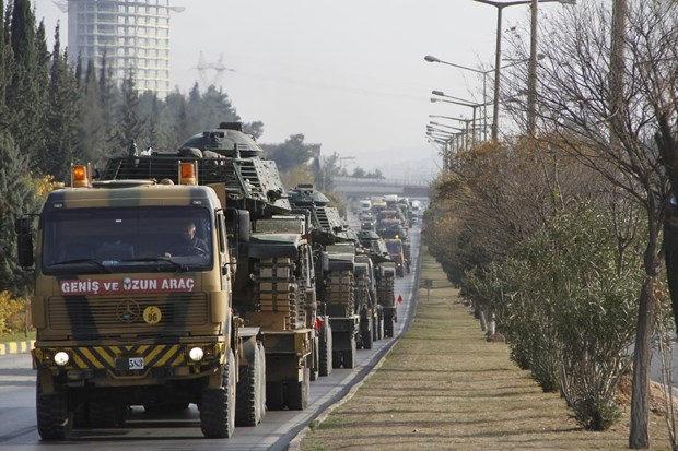 Τουρκία: Μεγάλη μετακίνηση αρμάτων μάχης από δυτικές επαρχίες στα σύνορα με Κουρδιστάν