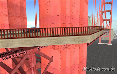 gta sa san andreas rosa project hd textures pack 4k sf bridge