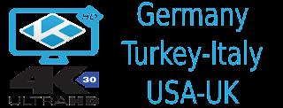 kabel SKY Germany Italy m3u8 USA UK Turkey