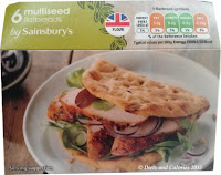 Sainsbury's seeded flatbread