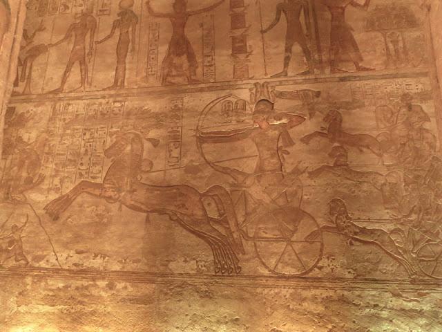 scena della battaglia di Kadesh