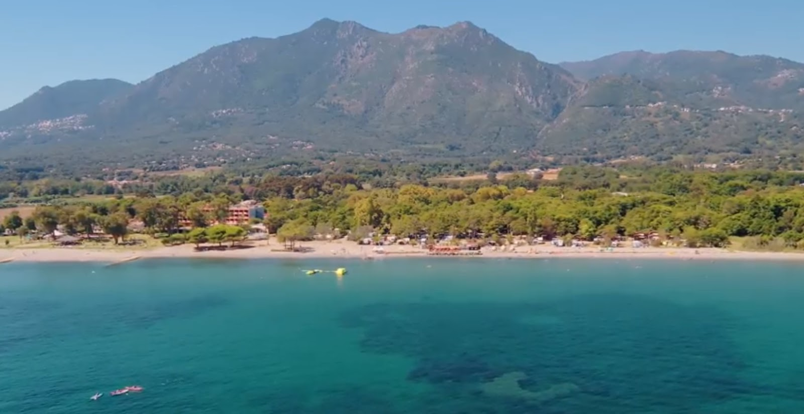 Hotel Corse Séjourner Dans Un Camping à Moriani Plage Au
