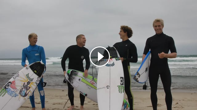 Creatures of Leisure Team Takes On Lower Trestles