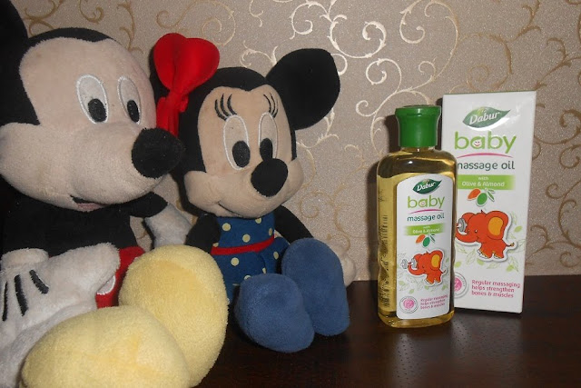 Dabur's Olive & Almond Baby Massage Oil Review