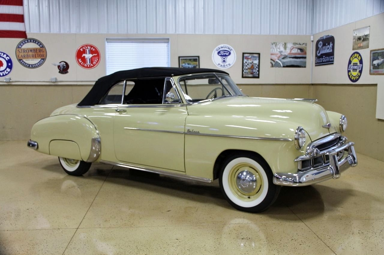 All American Classic Cars 1949 Chevrolet Deluxe Styleline