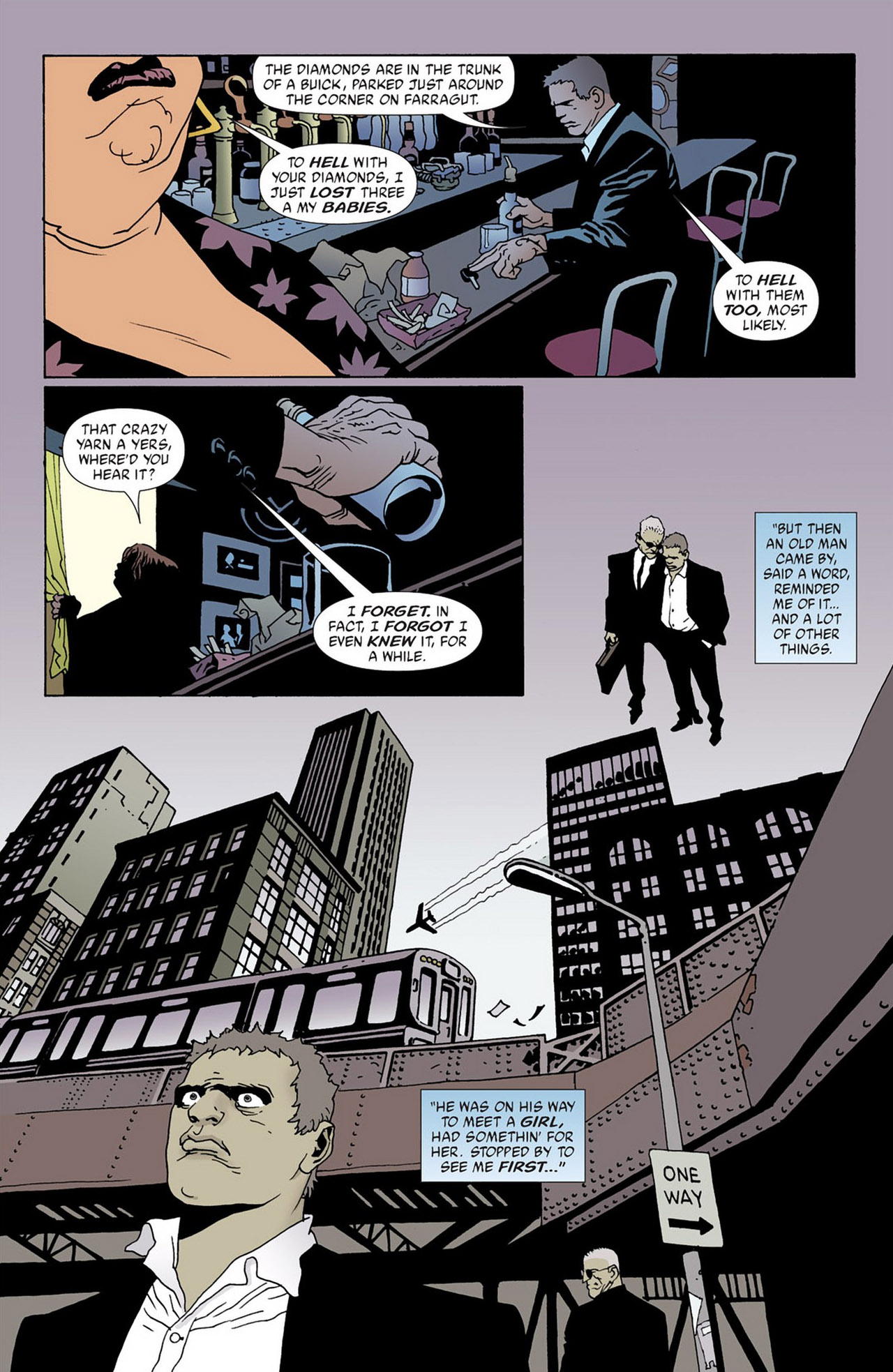 Read online 100 Bullets comic -  Issue #50 - 32